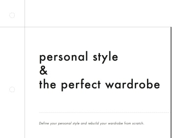personal style workbook