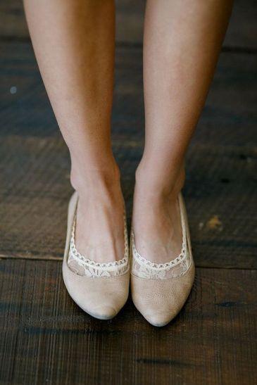 lace heel socks