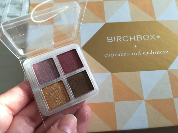 birchbox eyeshadow review